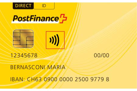 Postal Code Kreditkarte